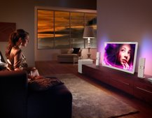 Philips DesignLine TV range brings a touch of glass to your living room