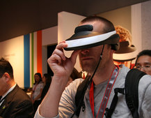 Sony HMZ-T1 Personal 3D Viewer pictures and hands-on