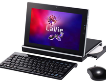 NEC LaVie Touch tablet with DVD drive launched in Japan