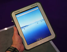 Panasonic Toughbook Android tablet pictures and hands-on