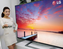 LG to unveil world's largest 3D Ultra Definition TV at CES 2012
