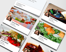Facebook Timeline business cards unveiled by Moo