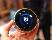 Nest learning thermostat pictures and hands-on