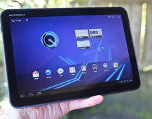 Motorola Xoom Ice Cream Sandwich update available now