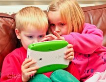 Kids shun toys for technology