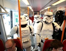 Darth Vader and Co hit the streets of London for Kinect Star Wars launch
