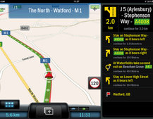 CoPilot Live now with real time traffic information as standard