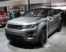 Range Rover Evoque Victoria Beckham edition pictures and hands-on