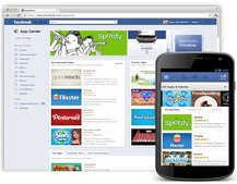 Facebook launches social App Center