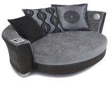 DFS sofa with built-in iPod and MP3 dock
