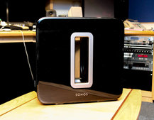 Sonos Sub pictures and hands-on
