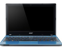 Acer Aspire One 756 netbook comes with a choice of processors