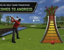 Tiger Woods PGA Tour 12 swings on to Android