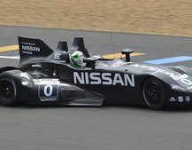 Nissan DeltaWing debuts at Le Mans