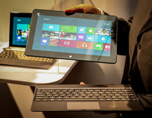 Asus Tablet 600, Tablet 810, and Transformer Book pictures and hands-on