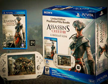 White PS Vita to accompany Assassin's Creed III Liberation bundle