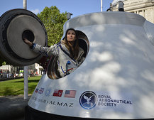 Space tourism a reality: Excalibur Almaz spacecraft pictures and hands-on