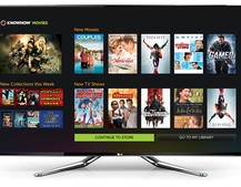 LG Smart TVs first to get Knowhow Movies app