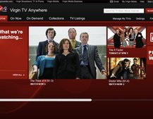 Virgin Media launches Virgin TV Anywhere for live streaming and video on demand