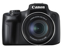 Canon PowerShot SX50 HS brings 50x zoom to the party