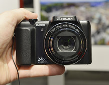 Casio Exilim EX-H50 pictures and hands-on