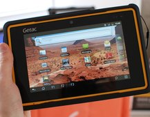 Getac Z710: world's first 7-inch rugged Android tablet pictures and hands-on