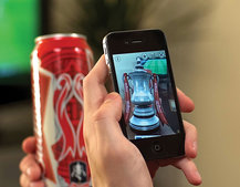 Budweiser and AR firm Aurasma allow you to drink beer from the FA Cup... of sorts