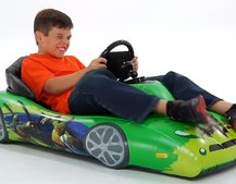 Nickelodeon Inflatable Sports Car for iPad provides turn-by-turn steering for iOS games