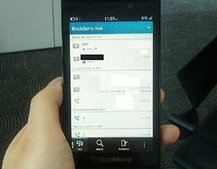BlackBerry London BB10 smartphone pictures leak again