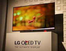 LG 55EA9800 55-inch OLED TV pictures and eyes-on