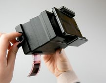 Lomography film scanner lets you share 35mm film from a smartphone