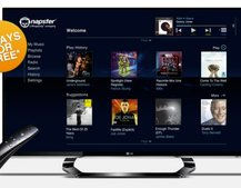 Napster music streaming app now available on LG Smart TVs