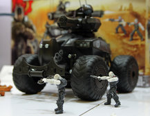 Meccano Gears of War Judgment models land March 2013