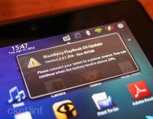 BlackBerry: All PlayBooks will get BlackBerry 10