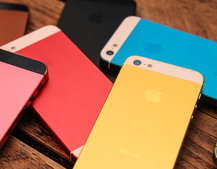 How to get a coloured iPhone 5, without waiting for Apple
