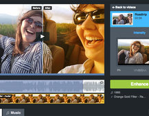 Vimeo cloud-based editing tools: new 'Looks' enhancement presets available to trial