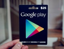 Google Play gift cards now available in the UK at Tesco and Morrisons