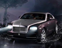 Rolls-Royce announces the Wraith with Satellite Aided Transmission