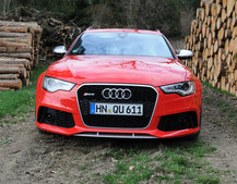 Audi RS6 Avant pictures and hands-on