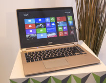 Acer Aspire V5 series updated, V7 introduced, bringing slim and light notebook options