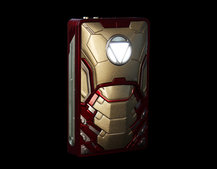 Iron Man Armor Power Bank: Let a superhero power up your smartphone or tablet