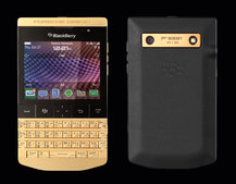 Porsche Design BlackBerry P'9981 goes gold, misses the Q10 memo