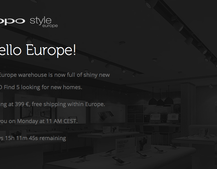 OPPO to launch Find 5 and European web store next week