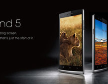 Oppo Find 5 smartphone now on sale