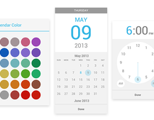 Google Calendar for Android adds custom colours, tweaks for pickers