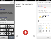 Google Chrome for iOS updates with improved voice search