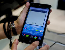 Acer Liquid S1 pictures and hands-on