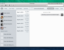 Flexbits launches Chatology, a better search app for OS X Messages