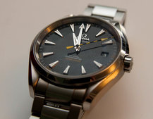 Omega Seamaster Aqua Terra anti-magnetic watch stops time for no-one