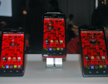 Motorola Droid Ultra, Droid Maxx and Droid Mini pictures and hands-on